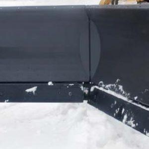 hydrauliskt snöblad